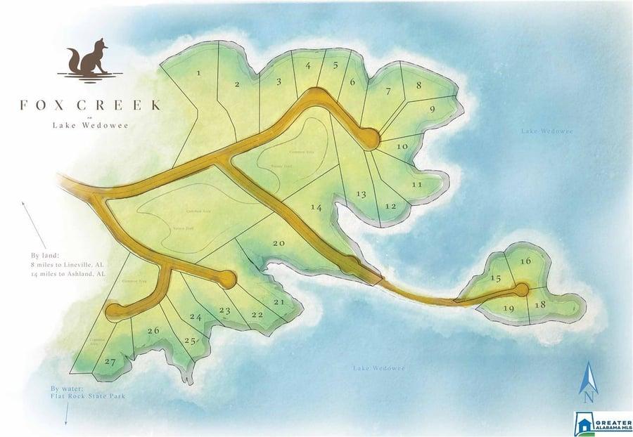 Lot # 6 Fox Creek Trace # 6 Wedowee, AL - Image 2