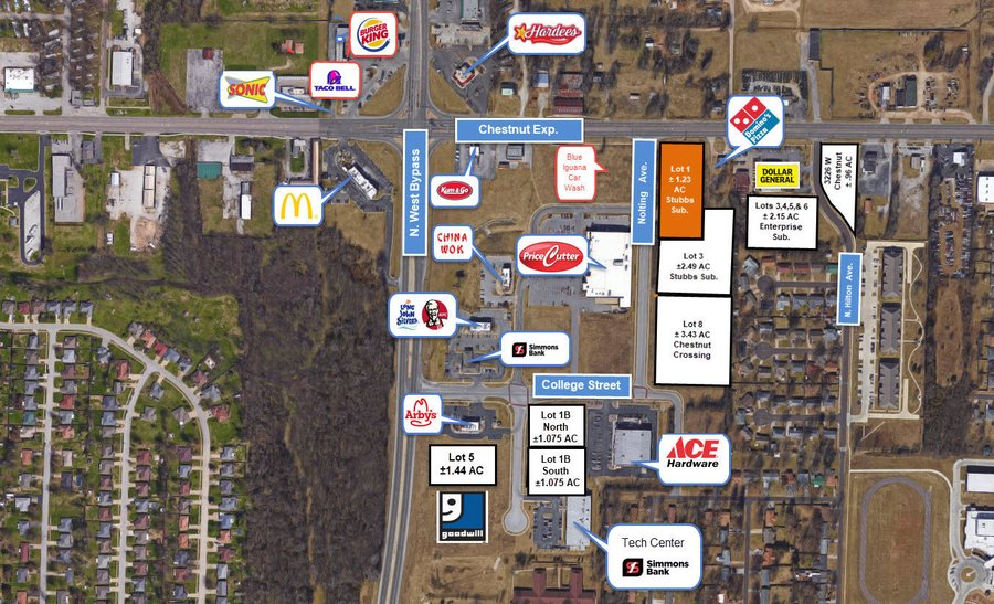 3308 West Chestnut (West Lot, Lease) Expressway Springfield, MO - Image 0