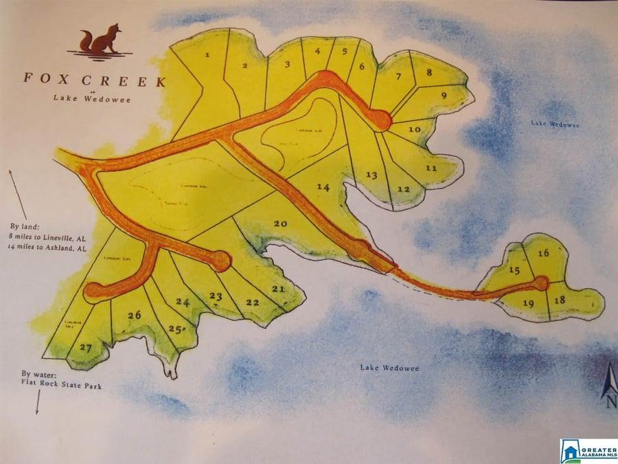 Lot # 6 Fox Creek Trace # 6 Wedowee, AL - Image 3